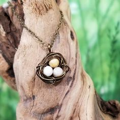 Working on new photography scenes for the 'Nestling' necklace Fairy Jewelry, Bohemian Jewelry, Artisan Jewelry, Handmade Jewelry, Crows, Wire Wrapped Jewelry, Wearable Art, Etsy Seller, Pendant Necklace