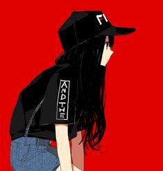 Anime Girl Mode shared by ❍ℓїʋ เ α ♡ on We Heart It – girl power Cool Anime Girl, Beautiful Anime Girl, Kawaii Anime Girl, Anime Art Girl, Tomboy Aesthetic, Aesthetic Anime, Anime Girl Drawings, Cute Drawings, Tomboy Art