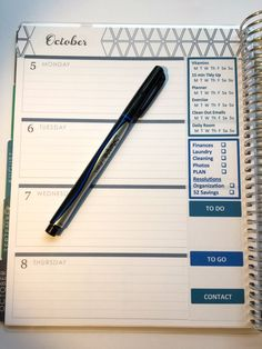 Download and Edit! Habit Stickers for October to fit Horizontal Erin Condren Life Planner