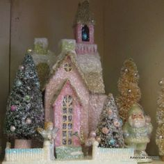 Amazing! Goodby Gingerbread Drama, hello Glitter Houses!