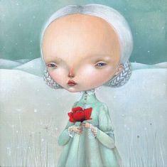 Кукольные открытки итальянских художниц Nicoletta Ceccoli и Dilka Bear. / Красивые картинки, фото кукол / Бэйбики. Куклы фото. Одежда для кукол