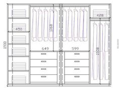 Wardrobe Closet Design Guidelines Rules Architecture Internal