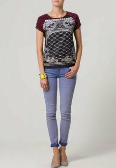 Vero Moda - PANAMA - T-shirt print - Rood