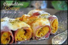 Cette recette m'a été inspiré du blog Saveur Passion . Je vous conseille de tester ce plat, il est divin au niveau gustatif... Ingrédients pour 3 personnes 9 pâtes cannellonis Gusto d'Italia 1/2 courge Delica Moretti 120gr de ricotta 1 cc de persil ciselé...
