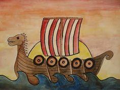 a faithful attempt: 7th grade Viking Longships