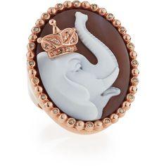 Amedeo Elephant ring - Metallic V27jmvOj