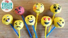 How to make emoji / emoticon cake pops! #myvirginkitchen #barrylewis
