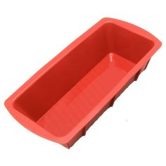 New 9-inch Medium Silicone Mold/Loaf Pan for Soap and Bread - 1 PC
