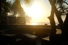 Sunset at Villa Talpe Sri Lanka