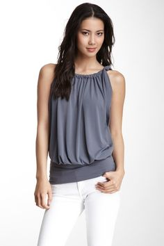 Claudia Top- hope I can wear sleeveless some day soon!