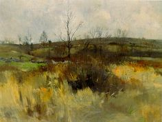 One of my favorite Artists, John Twachtman. His friend Childe Hassam is another.