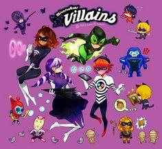 Miraculous Ladybug villains