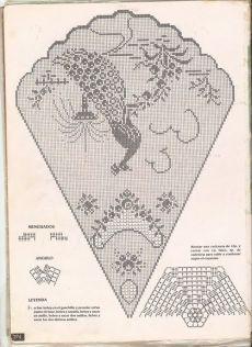 ~ Crochet Style ~: Manteles a crochet: Crochet Patterns Filet, Crochet Tablecloth Pattern, Crochet Motifs, Crochet Diagram, Doily Patterns, Crochet Designs, Crochet Doilies, Crochet Lace, Crochet Style