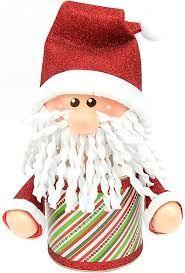 Resultado de imagen para decoracion latas galletas con motivos navideños