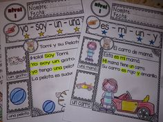 I have designed the reading sheets for the students to learn to read with the help of key and sight words with illustrations. This set can be a motivational resource for the Spanish classroom. | by Ready to Teach English and Spanish #Free #Spanish