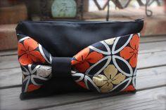 Obi / Kimono / Clutch / BK713 Gorgeous flower Pattern Obi Bow