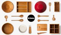 UH Choice: Schönes Schneidebrett Küchenbretter Schneidebretter Aus Bambus  Mit Metalltablett , 35.5 Cm X 25