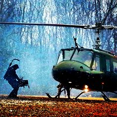 Cameras and choppers.