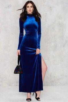 Nasty Gal Zealot for Velvet Dress | Shop Clothes at Nasty Gal!