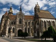 Elisabeth Cathedral - The largest church in Slovakia with a capacity of over people and the easternmost Gothic cathedral in Europe is a heart and centre of Kosice. Gothic Cathedral, Best Memories, Barcelona Cathedral, Notre Dame, Places Ive Been, Europe, Mansions, Architecture, House Styles