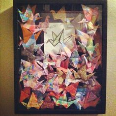 1000 paper cranes with a prayer on every one for ron good people and things pinterest. Black Bedroom Furniture Sets. Home Design Ideas