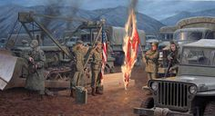 Burning of The Colors by Larry Selman, reproductions available at www.larryselman.com