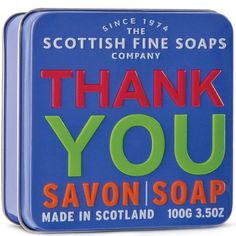Thank You Soap THE SCOTTISH FINE SOAP COMPANY