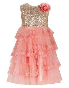 Baby Ola Dress | Pink | Monsoon