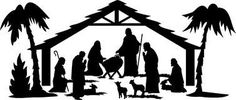 Nativity Christmas Silhouette/eps - Download From Over 38 Million High Quality Stock Photos, Images, Vectors. Sign up for FREE today. Image: 27649608