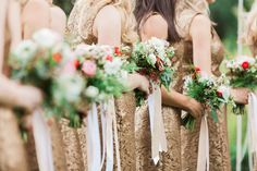 wedding flowers bridesmaid bouquet