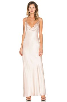 74bb2d9b7c1 Amanda Uprichard x REVOLVE Waverly Maxi Dress in Bisque