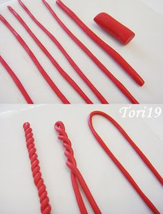 Предлагаю Вашему вниманию МК по созданию вот такого кулона из полимерной глины...Идея не новая, но может кому-то пригодится:) Такой 'вязаный' рисунок получить совсем не сложно:) Из хорошо размятой полимерной глины раскатываем тоненькие 'колбаски'. Быстрее и легче это можно сделать с помощью специального инструмента экструдера (шприца для полимерной глины).