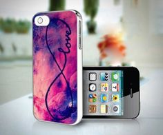 Galaxy INFINITY LOVE design for iPhone 5 case