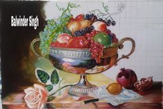Still Life my work Poster Colours