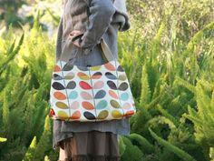 Orla Kiely Multi Stem Classic Shoulder Bag in Multi - Google Search
