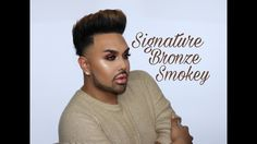 """Bronze Smokey Eye Tutorial """"Signature Series""""    @mac_daddyy   Angel Merino"""