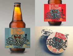 #packaging, #packagingDESIGN, #craft, #craftbeer, #beer, #brewing, #FMCG, elephant