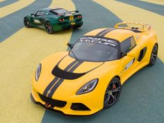 Lotus, Yellow Color 2012 Lotus Exige V6 Cup Front Angle Top Sporty Car: Small Lotus Exige V6 Cup 2012 with Great Performance