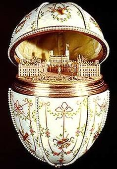 Fabergè Egg  Gatchina Palace Egg  1901  Owner: Walters Art Gallery, Baltimore, Maryland, USA  Height: 12,7 cm