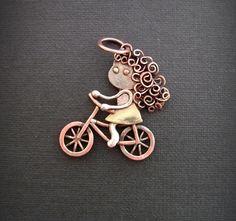Pendant Cyclist