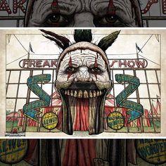 Psychological Horror, American Horror Story, Horror Stories, Joker, Fictional Characters, Art, Art Background, American Horror Stories, Kunst