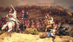 Jon Metters 1/72 The  42. highlanders  Waterloo 1815