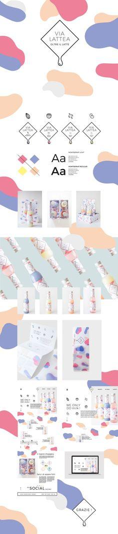 Via Lattea Food Branding by Guilia Cittarello on Behance   Fivestar Branding – Design and Branding Agency & Inspiration Gallery