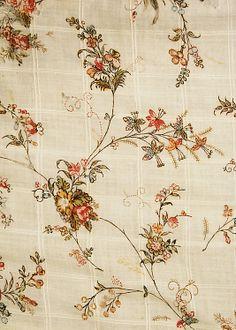 Dress  Date: 1796 Culture: British Medium: cotton