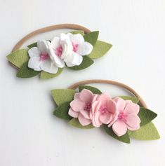 Excited to share the latest addition to my #etsy shop: Spring Blooms Flower Crown/Mini Flower Crown/Newborn Headband/Felt Flower/Nylon Headband/Baby Bows/Hair Accessories #feltflowers