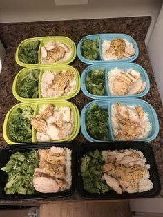Lunch Meal Prep, Easy Meal Prep, Healthy Meal Prep, Easy Meals, Healthy Eating, Healthy Recipes, Healthy Food, Meal Prep Plans, Lunch Snacks