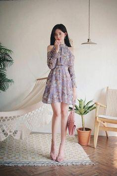 Great Latest Korean Women's fashion clothing Ideas 7093301196 korean fashion – Fashions Korean Fashion Dress, Korean Dress, Ulzzang Fashion, Asian Fashion, Korean Women Fashion, Teen Fashion Outfits, Cute Fashion, Fashion Dresses, Women's Fashion