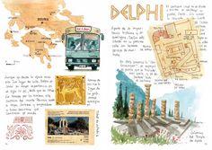 Journals, sketchbooks, travel journal