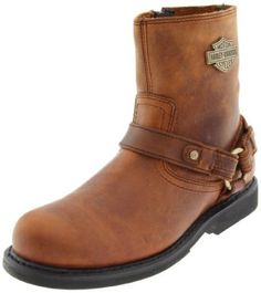 Harley Davidson Motorcycle Boots for Men | I Love Harley Bikes