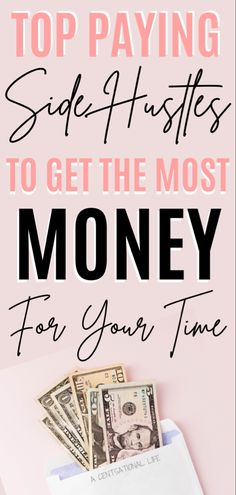 The key to financial freedom is to have multiple streams of income at the same time, that is why having an easy side job that pays well is crucial. #sidehustles #makemoneyonline Make Money Now, Make Easy Money, Make Money Blogging, Make Money From Home, Make Money Online, Earn Extra Cash, Making Extra Cash, Extra Money, Best Money Saving Tips